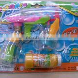 Flashing bubbles gun...