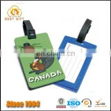 Creative promotional dongguan manufacturer custom luggage tag
