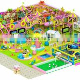 Colorful entertainment naughty castle indoor children playground amusement