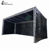T6082 Aluminum material truss system truss portable stage lighting truss 400x400mmx1.5m