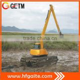 Dredging excavator for mining area