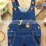 navy blue super soft breathable children jeans