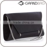 Elegant genuine leather women envelope bag clutch bags for women shoulder bag with chain