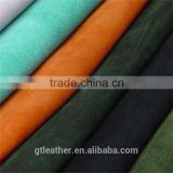 Genuine cow suede leather for suede belt