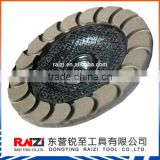 Premium Diamond Ceramics Polishing Grinding Wheel for Concrete, Abrasive Cutting Grinding Wheel En12413