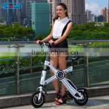2016 new lady electric bike city ebike with SAMSUNG battery in frame