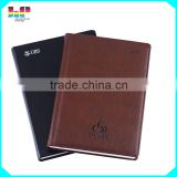 2016 handmade leather notebook /office use notebook printing service
