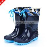 2015 new models in the winter shoes children warm children boots anti-skid water shoes students rain boot