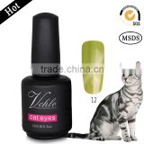 15ML gel polish magnetic 72colors cat eyes color gel nail polish cat eye gel