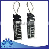High-quality customized 2d custom shaped soft pvc keychain