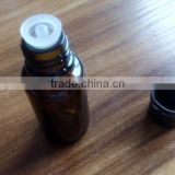 5ml 10ml glass essential oil bottles with cap and orifice reducer