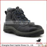 Hot selling leather safety boots/high heel steel toe safety shoe