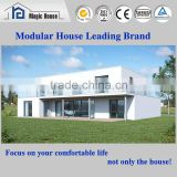 prefab flat roof two storey 4 bedroom container house plans SGS tested hanging force F65.8kg with reference GB/T 23451-2009