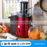 Whole fruit High-speed Power press juicer stainless steel and ABS housing with 100% copper motor