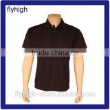 100% polyester mens POLO shirt , high quality t shirt customized, design your own logo on the shirt