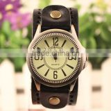 Top Quality Vintage Bracelet Retro Cheap Watches Womens Leather Watch