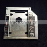 2.5 Inch 2nd Hard Disk Driver HDD Caddy For 9.5mm Universal CD/DVD-ROM Optical Bay SATA To SATA