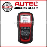 Professional OBD2 OBDII auto car diagnostic tool Autel AutoLink AL609 ABS CAN OBDII car diagnostic scanner
