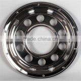 22.5''s/s bus chrome wheel trims/wheel hubcaps