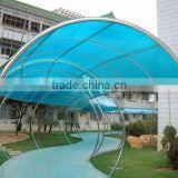 transparent APET sheet instead of polycarbonate roofing - Certified manufacturers by SGS