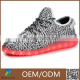 2016 Colorful Simulation Yeezy Shoes Adult Lighting Led Shoes                                                                                         Most Popular