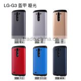 New popular smart Ultra Thin Hard Back Hybrid Colorful rubber Shell Case Cover for LG G3