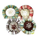 Hot sale fashion lovely round pet dog beds