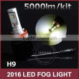 40w/ kit H11 H7 new front fog light drl guangzhou auto parts fog lamp for nissans tiida