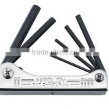 Hex key wrench set Japanese brand, Standatd, Ball point