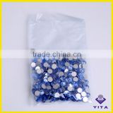 Flat back non hot fix MC rhinestone ss12 3mm crystal lt sapphire                                                                         Quality Choice