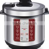 2015 new technology small kitchen appliance 5L 6L stainless steel housing multi functions mini electric pressure cookers 110v