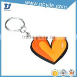 Promotional gifts key ring making machine, 3D pvc keychain with metel