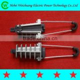 Electric Wire Rope Insulation Tension Cable Wedge Clamp with Top Quality, WeiChuang Brand