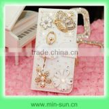 2014 new arrival princess mobile phone case & DIY bling crystal princess crown design mobile phone case