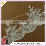 HC-1970-1 Hechun Guangzhou Import Wedding Dress Sew Seed Bead Fashion Lace Bridal Trim