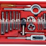 40pc Threading tools tap and die set M3-M12 METRIC SAE hand tools for tapping