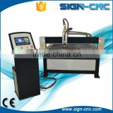 High speed metal sheet plasma cnc cutting machine / low cost Metal cutter with water table