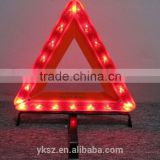 car led emergency warning triangle sign