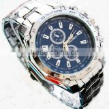 geneva stainless steel watch silicone japan movement quartz watch sr626sw