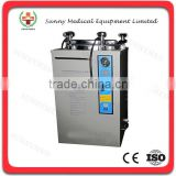 SY-T018 35-100L stainless hand round automatic vertical steam sterilizer autoclave sterilizer price