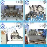 3D 4 Axis Rotary Four Heads Wood CNC Router Machine for Carving/Engraving/Milling Agent Wanted