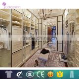 wholesale wood wardrobe with glass sliding door designs and island cabinet