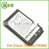 3.7V 1400mAh 7925G Battery for Cisco 7925G, CP-7925G CP-7925G-A-K9, 7925G-EX Wireless IP Phone
