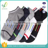 Wholesale Custom Colored Cotton Mens Ankle Socks