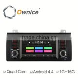 Ownice C300 Quad core android 4.4 car radio for BMW E39 1996-2003 built in RDS multimedia WIFI GPS navi