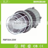 Gas Station 85-277V 5000K Aluminum Housing 23W Induction Proof Fluorescent Lamp Electronic Ballast