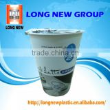Plastic cup heat shrink sleeve wrap Label for customized