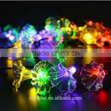 Solar Christmas Lights 20ft 6M 30 LEDs 2 Modes Morning Glory Lights for Outdoor