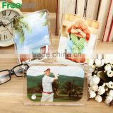 Freesub BL-07 L130*H180*W10mm oblong sublimation transfer photo to glass