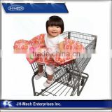 Eco-friendly soft cotton shopping cart seat covers for baby